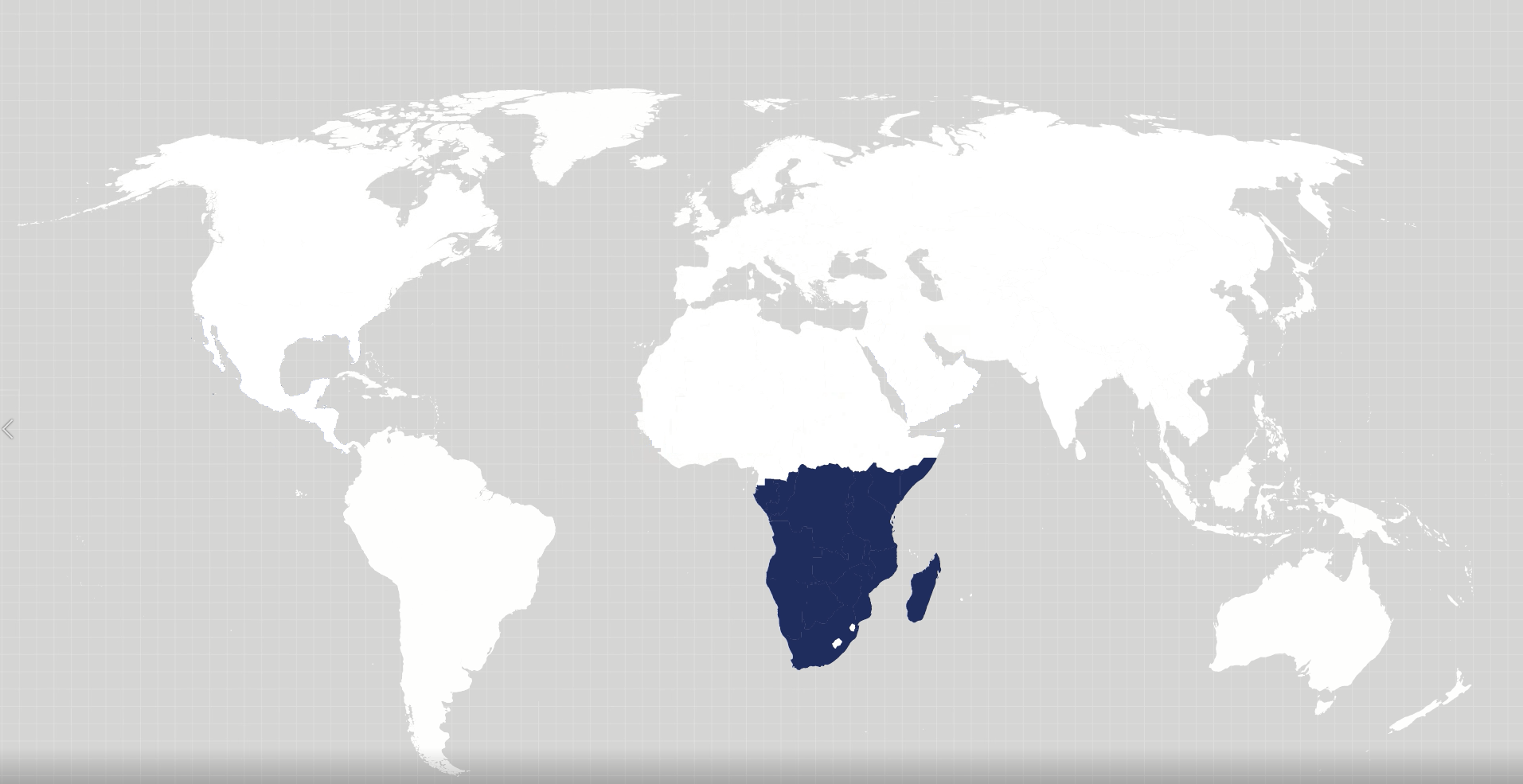Africa operations map