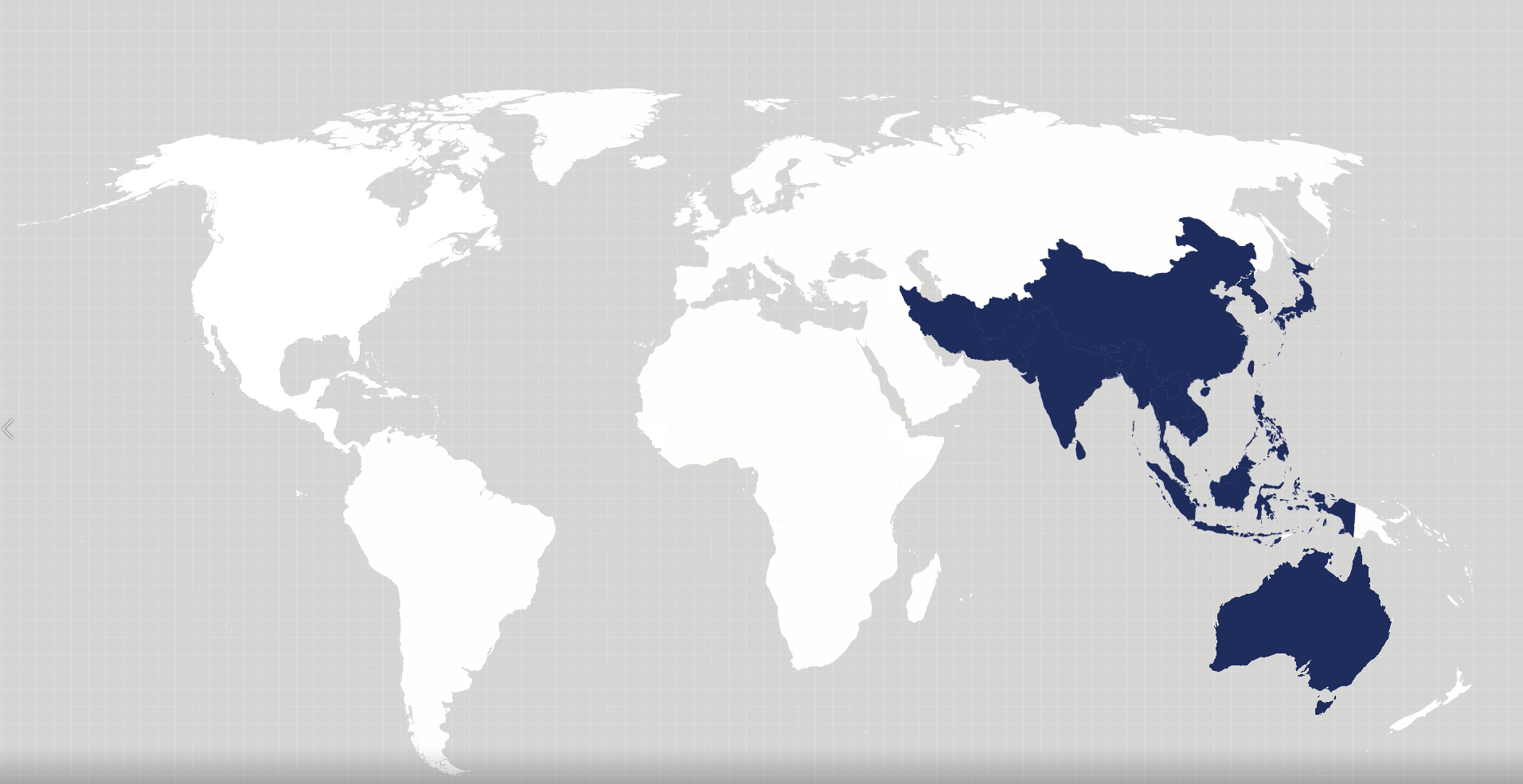 Map Of The Asia Pacific.Asia Pacific Offices